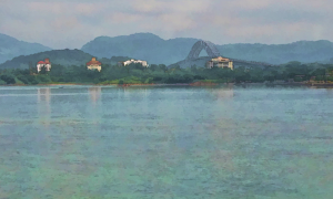 Bridge of the Americas from Casco Viejo – the story behind the picture