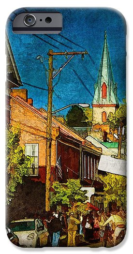 iPhone 6 case|Waiting to Run|Julia Springer